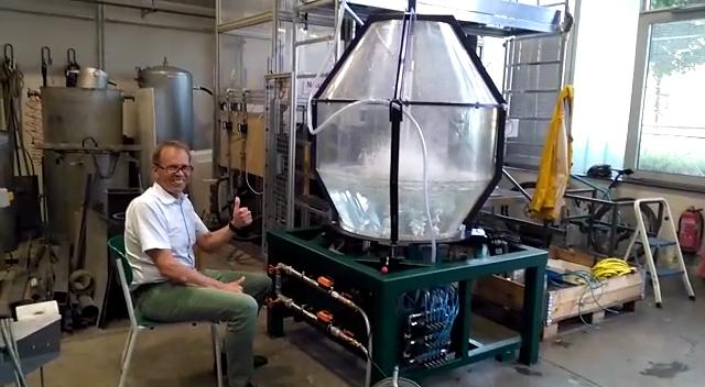 New oxygen steelmaking LD water model
