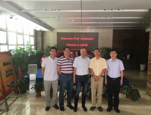 Guest Lecture of Prof. Schenk at University of Science and Technology Beijing