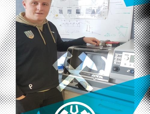 Das Department Metallurgie gratuliert Hr.Tobias Rieger zur bestandenen Lehrabschlussprüfung