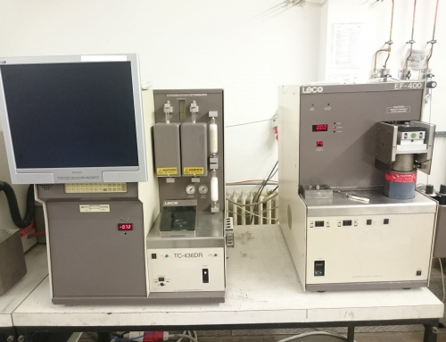 LECO TC-436DR Nitrogen/Oxygen Determinator