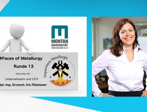 Faces of Metallurgy – Interview with Dipl.-Ing. Dr.mont. Iris Filzwieser