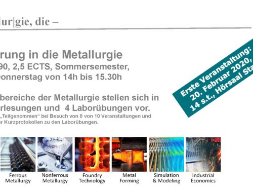 Einführung in die Metallurgie