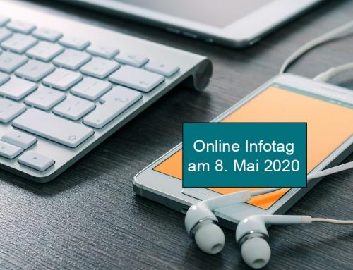 Online Infotag am 8. Mai 2020