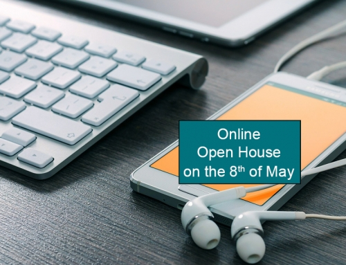 Online Open House on May 8th 2020