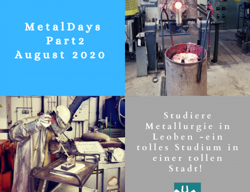 11. MetalDays der Metallurgie Leoben: Teil 2