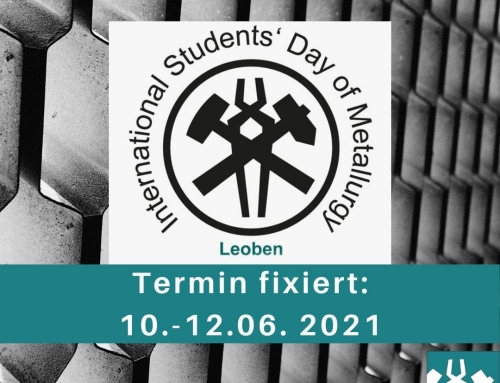 New Date for the International Student's Day of Metallurgy – ISDM