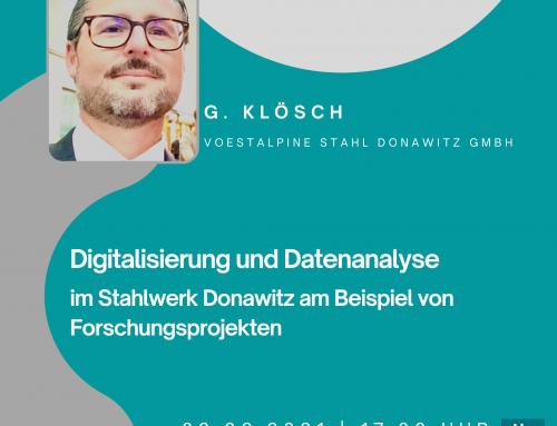 Vortrag – Dr. G. Klösch