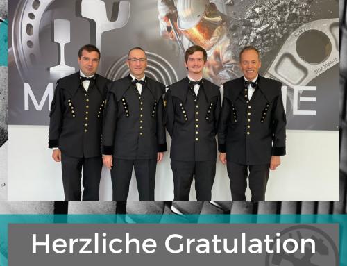 Herzliche Gratulation!